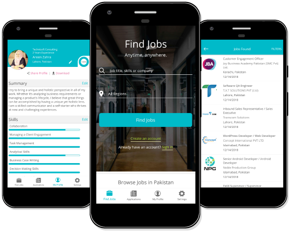 Jobs In Pakistan | Free CV builder